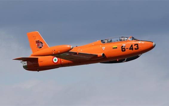 Wallpaper MB-326 light attack plane