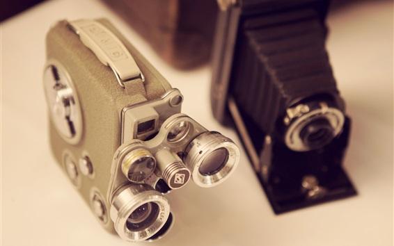 Wallpaper Mini cameras, lenses