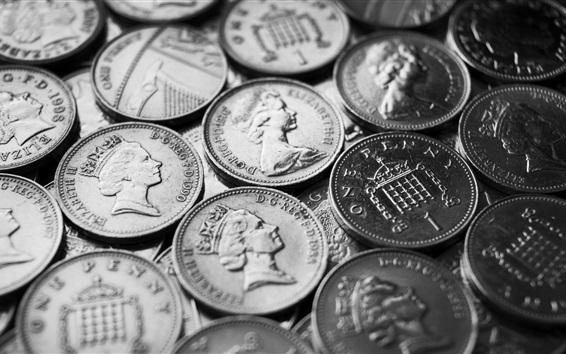 Обои Одна Пенни, монеты, деньги в Англии