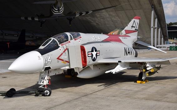 Papéis de Parede Lutador multifuncional Phantom II F-4J