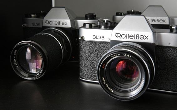 Wallpaper Rollei SL35 cameras