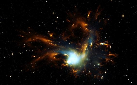 Fondos de pantalla Espacio, estrellas, luz, universo
