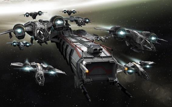 Fondos de pantalla Star Citizen, nave espacial