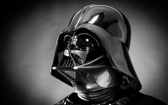 Papéis de Parede Guerra nas Estrelas, Darth Vader, capacete