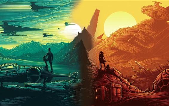 Обои Звездные войны: The Force Awakens, художественная фотография