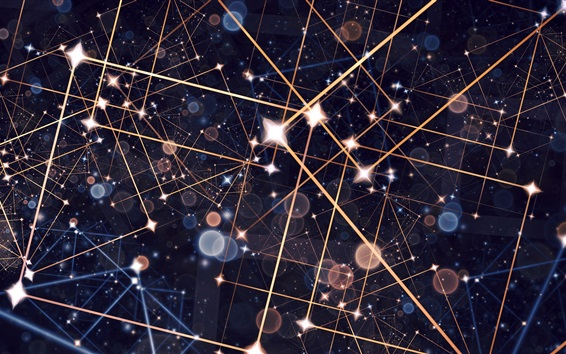 Wallpaper Stars, lines, abstract background