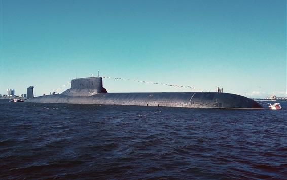 Wallpaper Submarine, underwater, sea