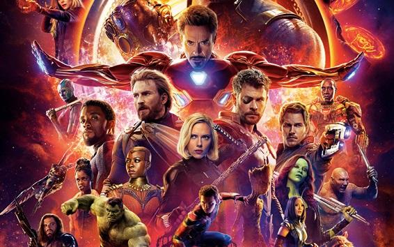 Fondos de pantalla Superhéroes, Vengadores: Infinity War 2018