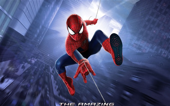 Wallpaper The Amazing Spider-Man, city