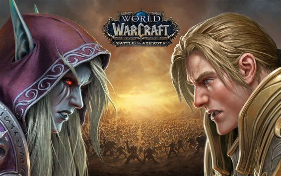 Wallpaper World of Warcraft: Battle For Azeroth