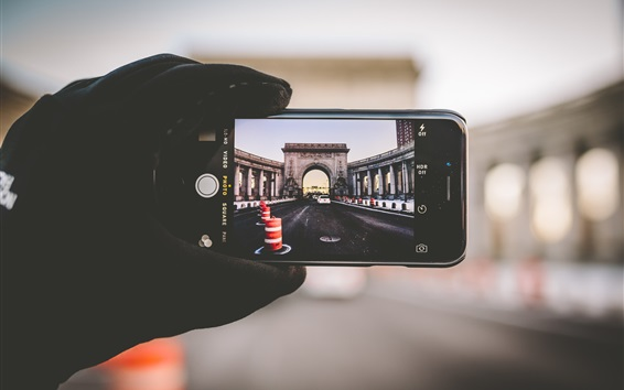 Fond d'écran iPhone, photographie, pont, New York