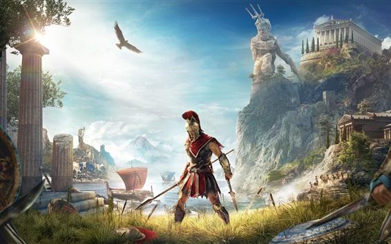 Wallpaper Assassin's Creed: Odyssey, E3 2018