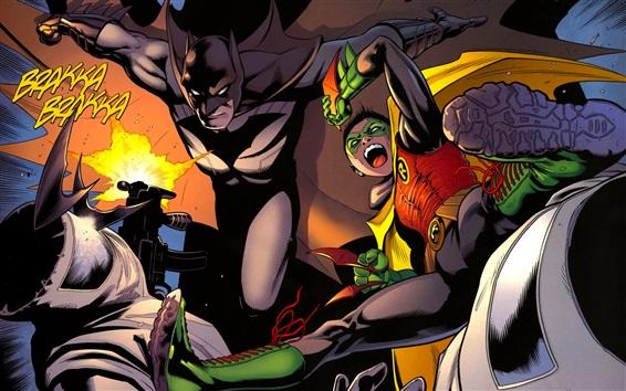 Papéis de Parede Batman e Robin, Cavaleiro das trevas, imagens de arte