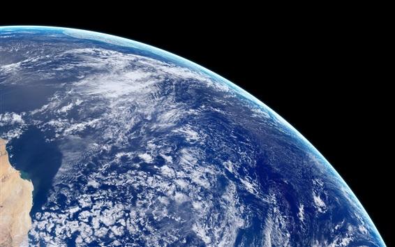 壁紙 美しい地球、青い惑星、宇宙