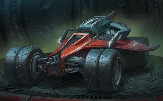 Wallpaper Concept F1 race car