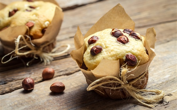 Wallpaper Cupcake, peanuts