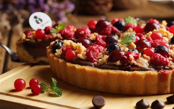 Wallpaper Fruit pie, berries
