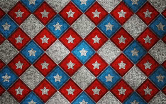 Wallpaper Line pattern, stars, colorful, abstract