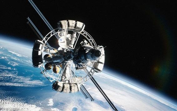 Обои Миссия на Марс, космический корабль, космос