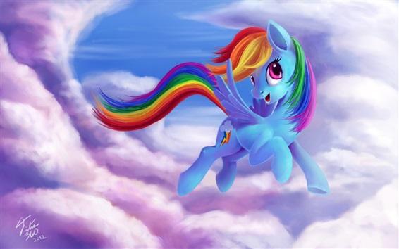 Обои Рэйнбоу, Мой маленький пони: дружба - это волшебство