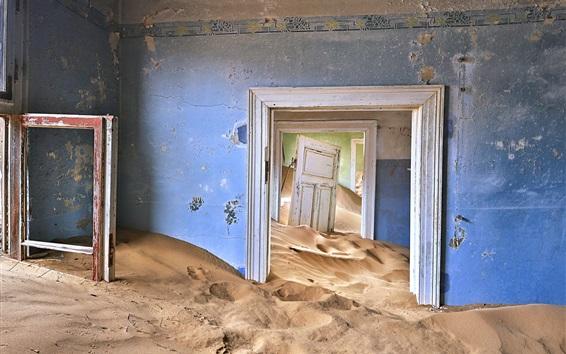 Papéis de Parede Sala, areias, poeira