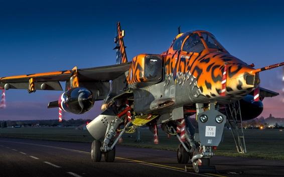 Wallpaper Sepecat Jaguar GR.3A fighter