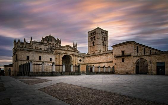 Fondos de pantalla España, Zamora, iglesia, edificios
