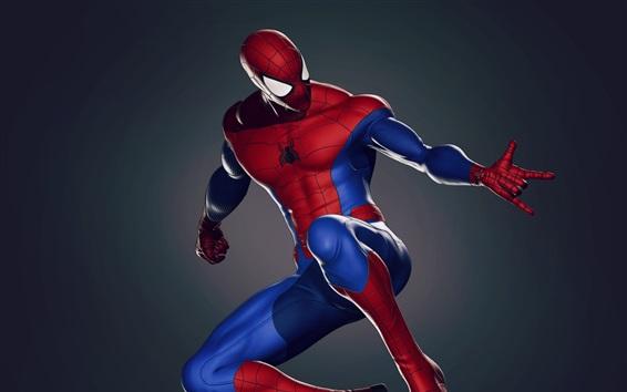 壁紙 スーパーヒーロー、漫画、ピーター・パーカー、スパイダーマン