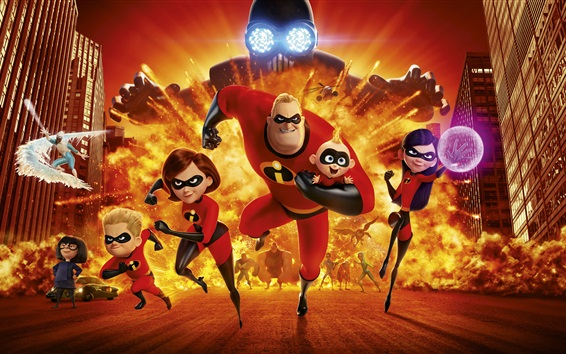 Wallpaper The Incredibles 2