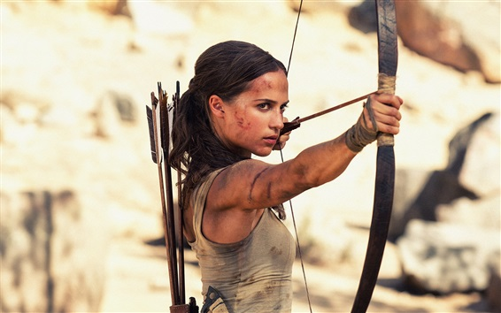 Fondos de pantalla Película de Tomb Raider 2018, Lara Croft