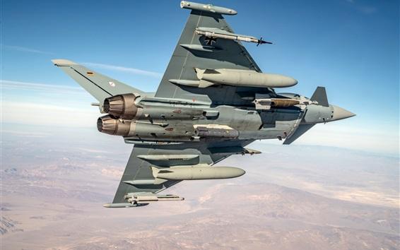 Fondos de pantalla Combatiente multifuncional Typhoon, cielo, vuelo