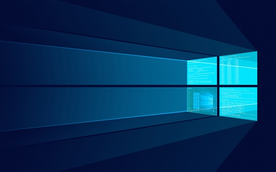 Wallpaper Windows 10, screen, creative