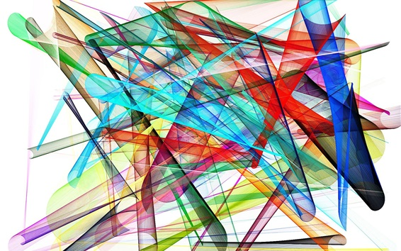Wallpaper Abstract lines, pattern, colorful