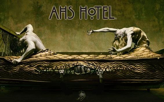 Wallpaper American Horror Story: Hotel