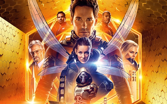 Fondos de pantalla Ant-Man and the Wasp, película de 2018