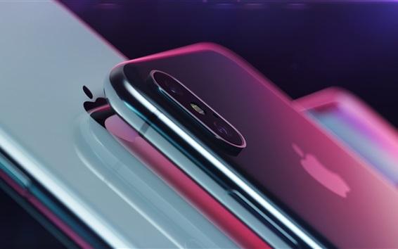 Fond d'écran Apple, iPhone X