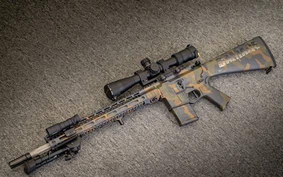 Обои Штурмовая винтовка AR-15, оружие