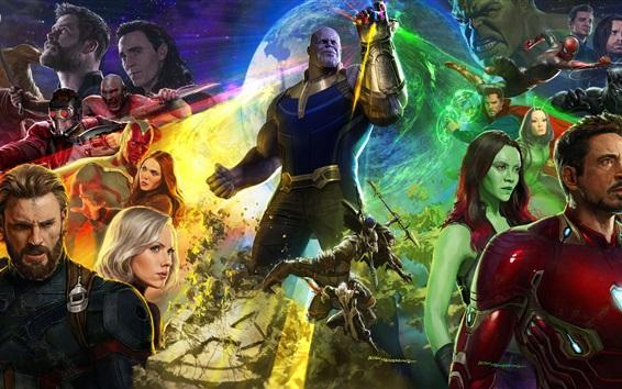 Papéis de Parede Vingadores: Guerra Infinito, filme Marvel 2018