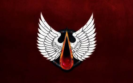 Wallpaper Blood Angels, Warhammer 40000, wings