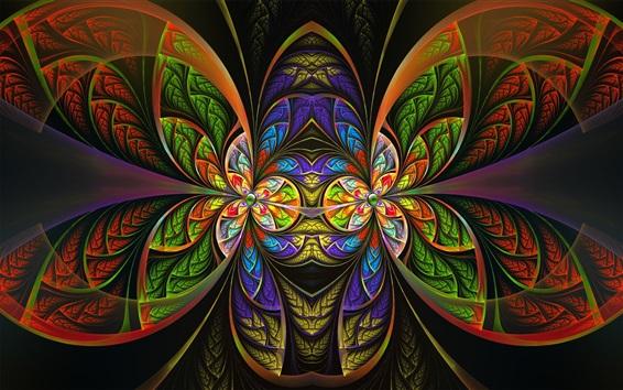 Fondos de pantalla Patrones coloridos, arte de fantasía