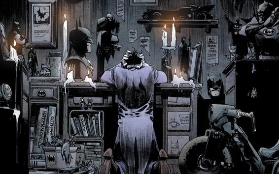 Wallpaper DC Comics, batman, superhero