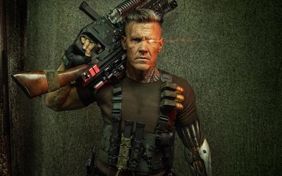 Papéis de Parede Deadpool 2, cyborg, homem