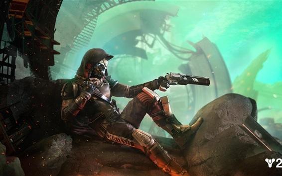 Papéis de Parede Destino 2, robô, arma