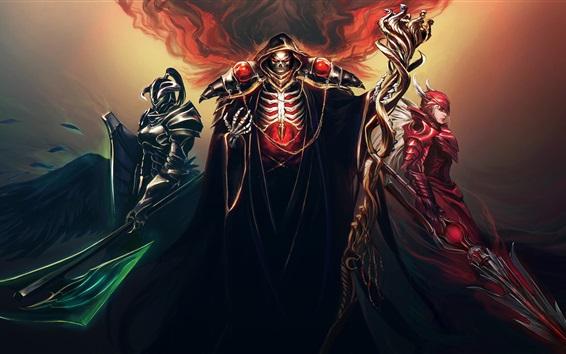 Wallpaper Fantasy art, warriors, scepter