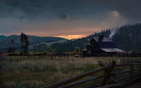 Wallpaper Far Cry 5, farm, village
