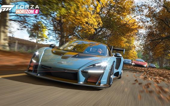 Wallpaper Forza Horizon 4, McLaren supercar