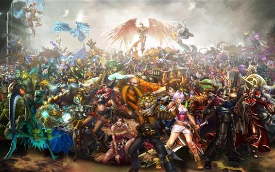 Fondos de pantalla League of Legends, personajes del juego
