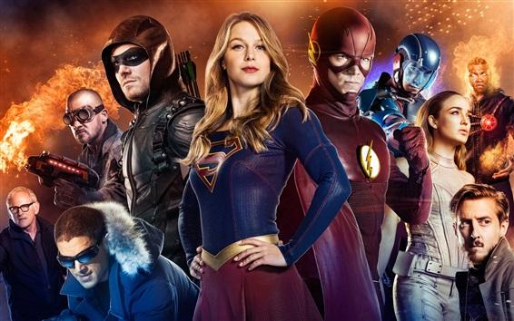 Fondos de pantalla Legends of Tomorrow, superhéroes