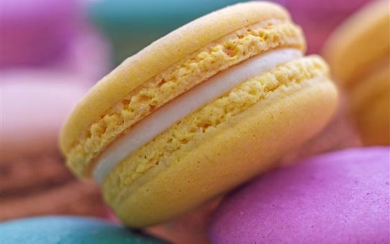 Fond d'écran Macarons, pâtes, gâteaux