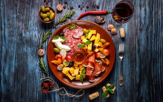 Fondos de pantalla Comida, verduras, ensalada